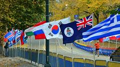 Flags (PMillera4) Tags: newyorkcity newyork flags newyorkmarathon