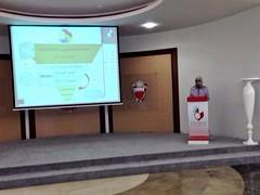 سعادة الأمين العام أ. هالة الأنصاري تلقي كلمة الآن في لقاء الشركاء للخطة الوطنية لنهوض #المرأة #البحرينية (scwbahrain) Tags: المرأة البحرينية uploaded:by=flickrmobile flickriosapp:filter=nofilter