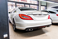 Mercedes CLS 63 AMG - 527 c.v - - Blanco Diamante - Piel Nappa Negra