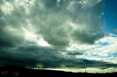 Giant clouds (WhiteFlowersFade) Tags: voyage travel light sky canada nature clouds forest newfoundland landscape nikon labrador lumire north roadtrip ciel wilderness nuages paysage nord tnl terreneuve forts d7k d7000