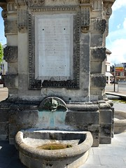 Fontaine monumentale (fin XVIIIme) (xavnco2) Tags: france fountain normandie fontana normandy fontaine monumentale seinemaritime gournayenbray