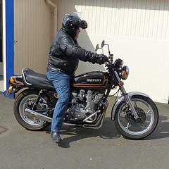 1979 Suzuki GS850G 849cc (Ayr Classic Motorcycle Club) Tags: show old classic bike vintage scotland scottish moto motorcycle biker ayr veteran timer velo motorrad