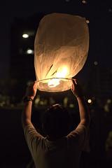 (Melito Junior) Tags: light people lebanon night canon fire 50mm lantern beirut