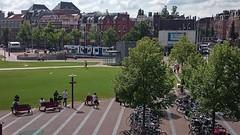 Museumplein (Peter ( phonepics only) Eijkman) Tags: city holland netherlands amsterdam transport nederland tram trams noordholland nederlandse