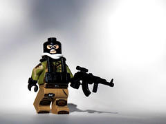 AKM (.Ravager) Tags: soldier mod lego russia military camo minifig modification kalashnikov akm brickarms legography minifigcat