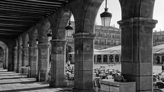 Salamanca (victor_babilafuente) Tags: blancoynegro arquitectura monumentos salamanca turismo piedra