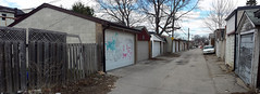quickage-20150426_131625-20150426_131628 v2 (collations) Tags: toronto ontario architecture documentary vernacular laneways alleys lanes garages alleyways builtenvironment vernaculararchitecture urbanfabric