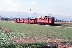 Trains du Nyon St.-Cergue (Suisse)