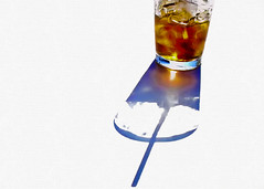 cola n' ice (mfm2010) Tags: metcalfeimages cola icecubes hotsummerday shadow drinkingglass srinkingstraw