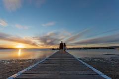 Port Stephens Jetty (Stuart Templeton) Tags: time stack timestack port stephens sunset australia new south wales nsw