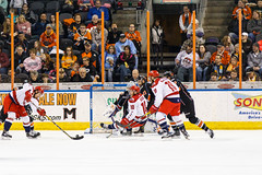 "Missouri Mavericks vs. Allen Americans, March 10, 2017, Silverstein Eye Centers Arena, Independence, Missouri.  Photo: © John Howe / Howe Creative Photography, all rights reserved 2017 • <a style=""font-size:0.8em;"" href=""http://www.flickr.com/photos/134016632@N02/33023731490/"" target=""_blank"">View on Flickr</a>"