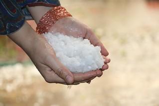 Snow in Hands