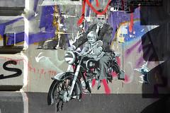 DSC_0141 (matthiasmayer410) Tags: streetart vater tochter motorrad anzug fifties elvis