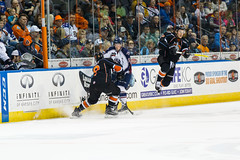 "Missouri Mavericks vs. Tulsa Oilers, March 5, 2017, Silverstein Eye Centers Arena, Independence, Missouri.  Photo: John Howe / Howe Creative Photography • <a style=""font-size:0.8em;"" href=""http://www.flickr.com/photos/134016632@N02/33273250756/"" target=""_blank"">View on Flickr</a>"