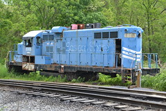DSC_0813 (Andy961) Tags: railroad train virginia diesel engine railway easternshore va gore locomotive ww emd 8066 gp10 winchesterwestern
