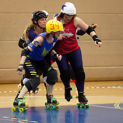 """Stockholm BSTRDs vs. Dock City Rollers-9 • <a style=""""font-size:0.8em;"""" href=""""http://www.flickr.com/photos/60822537@N07/8996353854/"""" target=""""_blank"""">View on Flickr</a>"""