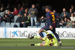 FC Barcelona B - CD Mirands (Dpirnora) Tags: barcelona bar mini bara liga adelante lfp estadi cdmirands mirands dpironoraa davidpirnora realfedereacinespaoladefutbol dpirnora
