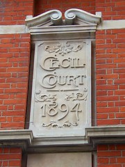London, Cecil Court (teresue) Tags: uk greatbritain england london unitedkingdom 1894 cecilcourt 2013