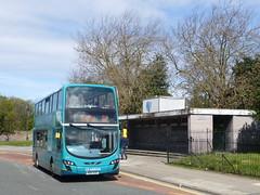 Arriva Merseyside 4466 in Aigburth (simon835) Tags: wright merseyside arriva vdl gemini2 aigburth 4466 db300 mx61axg