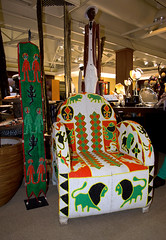 South African souvenir (Osdu) Tags: africa travel shop southafrica souvenir armchair souvenirsshop