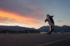 Digital Orca Sunset (hamiltron3000) Tags: sunset vancouver cloudy britishcolumbia canadaplace digitalorca