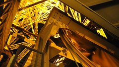 The Eiffel Tower after dark, Paris