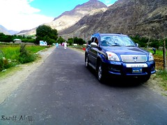 Ghizer Road (BasittAli) Tags: nature landscape adventure toyota yasin tz gilgit greenry ghizer baltistan phander d4d gupis