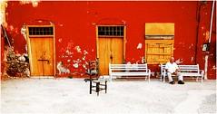 Un soir de juillet à Hydra #colors of Greece (nikosaliagas) Tags: red summer greece hydra grece