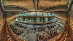 the turbine hall (CONTROTONO) Tags: barcelona madrid sunset red sky urban panorama sun color building berlin london abandoned window glass sunshine photoshop concrete bathroom gold hall florence losangeles construction rust colorful edinburgh exposure peeling industrial arch afternoon view stitch decay balcony room pano explorer butt perspective favorites wideangle ceiling stained used step urbanexploration dome pro stitching colored photomerge disused worker flashing frontal exploration derelict hdr exposed decayed decaying dereliction ue bulge urbex deviate photomatixpro panoramaview explored controtono