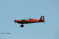 Extra 300 G-ZXLL (Rob390029) Tags: newcastle airport team display international 300 extra blades gzxll