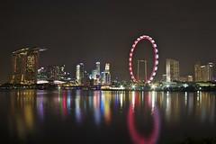20130809_Singapore_0007 (ctheisinger) Tags: reflection singapore cityscape cbd mbs singaporeflyer marinabaysands