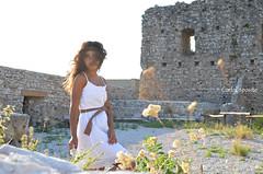 like the wind (carlaespositoo) Tags: light sunset woman flower girl architecture donna nikon smell glam fiori sole castello bianco architettura vento avellino avella irpinia nikond5100