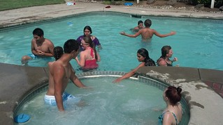 Photo Youth Swim Party 2013
