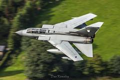 Swept Tornado GR4 (Dan Kemsley) Tags: wales canon force air jet royal aeroplane british tornado bluebell 100400mm raf aero lowlevel sqn panavia gr4 bwlch machloop lowfly 50d lfa7