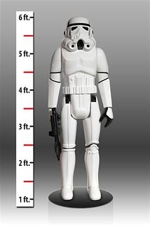 Gentle Giant – Stormtrooper 3.75 吋吊卡帝國暴風兵放大1:1 真人比例復古再現