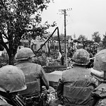 25 Feb 1968, Hue - U.S. Army Patrol During Offensive on Hue thumbnail