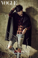 Lee Jong Suk, ถ่ายนิตยสารแฟชั่น Vogue Korea พร้อมกับแจ็คเก็ตหนังสุดเท่