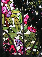 Maison Bergeret (1904), Jardin d'hiver - 2 rue Lionnois, Nancy (54) (Yvette Gauthier) Tags: architecture artnouveau vitrail nancy 54 bellepoque meurtheetmoselle villabergeret josephjanin