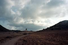 Molino de los Genoveses (photogreuhphies) Tags: espaa film beach spain kodak playa andalucia portra espagne minox cabodegata cala andalousie 35gt 160iso
