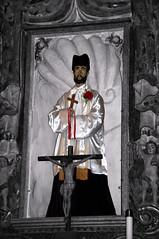 San Xavier del Bac Mission (Graham Buffton) Tags: old arizona art church saint statue closeup museum sonora photoshop religious san desert pentax tucson religion pima mission xavier sonoran k10d pentaxk10d mygearandme