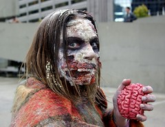 A Little Crusty (Georgie_grrl) Tags: costumes toronto ontario fun cool freaky brain event undead crusty crooked nathanphillipssquare grrl walkingdead zombiewalk 2013 pentaxk10d cans2s lifeimpaired furtherintothedarkside