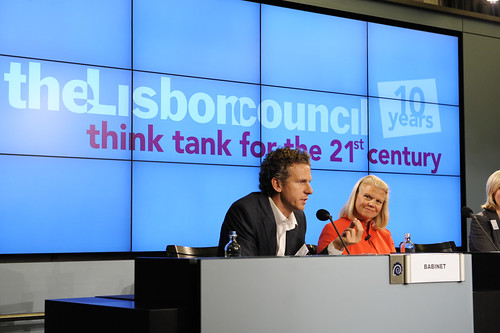 Gilles Babinet and Ginni Rometty