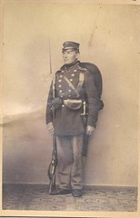 Menig fra 4. infanteriregiment (Rigsarkivet - Danish National Archives) Tags: private soldier war soldat 1864 krig menig deutschdänischekrieg zweiterschleswigscherkrieg zweiterschleswigholsteinischerkrieg