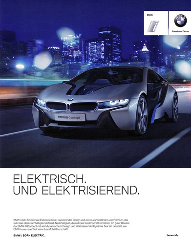 Bmw I8 Concept 2012 Elektrisch Und Elektrisierend A Photo On