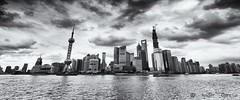 Shanghai Pudong desde zona Bund (China) (Ander G.I) Tags: world bw radio canon de la torre shanghai center tokina 7d pudong financial bund f28 zona desde abre txapas 1116 financiera