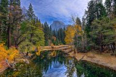 Yosemite (markwhitt) Tags: california trees mountain nature colors beautiful beauty colorful yosemite halfdome yosemitenationalpark markwhitt markwhittphotography