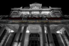 Palacio Consistorial (Cani Mancebo) Tags: espaa blancoynegro cutout spain arquitectura murcia cartagena contrapicado desaturado palacioconsistorial canimancebo