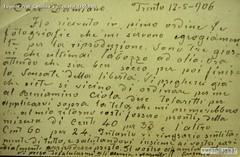 Eugenio Prati Cartolina a Graziadei 12-05-1906