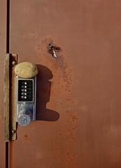 A Potato in a Strange Spot (ricko) Tags: door food lock potato knob