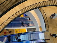 Birmingham Library (marios_h) Tags: stairs floors birmingham escalator steps escalators levels birminghamuk birminghamlibrary libraryofbirmingham